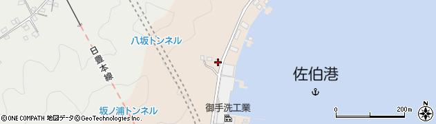 大分県佐伯市鶴望4888周辺の地図
