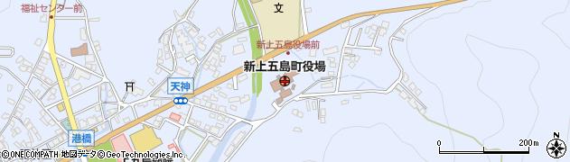 長崎県南松浦郡新上五島町周辺の地図