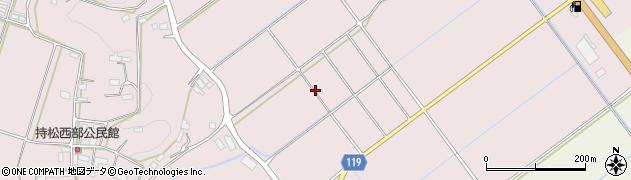 熊本県山鹿市鹿央町持松周辺の地図