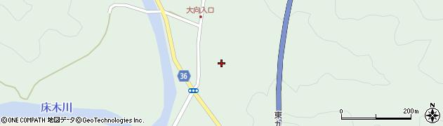 大分県佐伯市弥生大字床木236周辺の地図