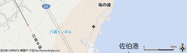 大分県佐伯市鶴望4876周辺の地図