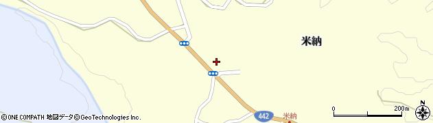 大分県竹田市米納634周辺の地図