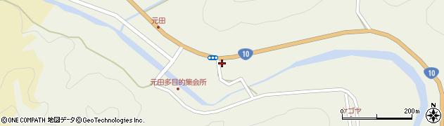 大分県佐伯市弥生大字大坂本1668周辺の地図