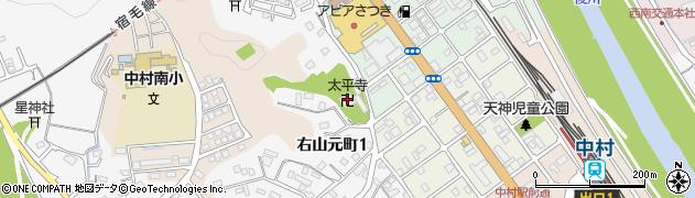 太平寺周辺の地図