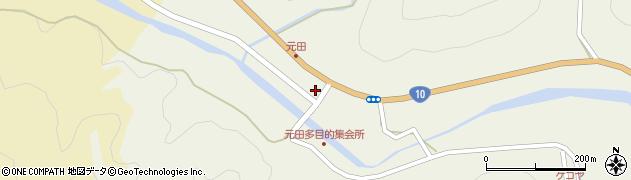大分県佐伯市弥生大字大坂本1688周辺の地図