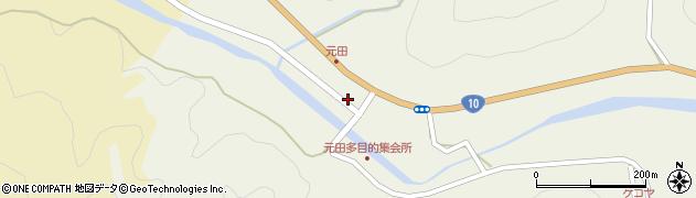 大分県佐伯市弥生大字大坂本1693周辺の地図