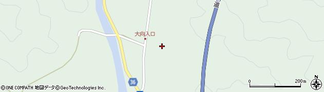 大分県佐伯市弥生大字床木222周辺の地図