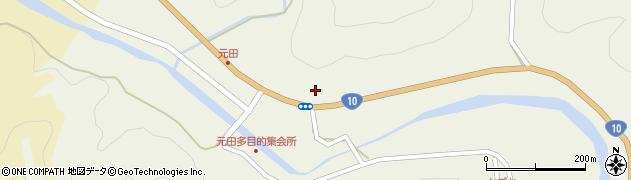 大分県佐伯市弥生大字大坂本1741周辺の地図