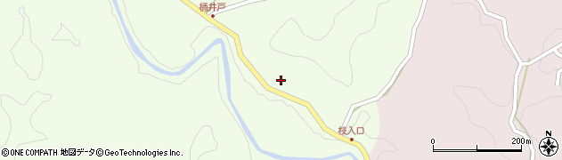 大分県竹田市植木967周辺の地図