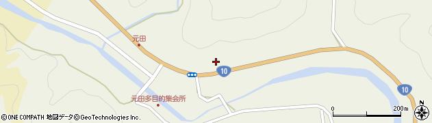 大分県佐伯市弥生大字大坂本1749周辺の地図
