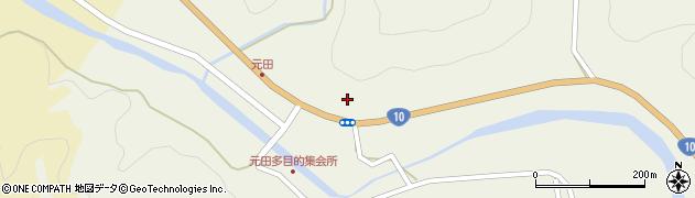 大分県佐伯市弥生大字大坂本1740周辺の地図
