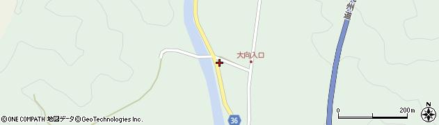 大分県佐伯市弥生大字床木275周辺の地図