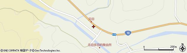 大分県佐伯市弥生大字大坂本1717周辺の地図