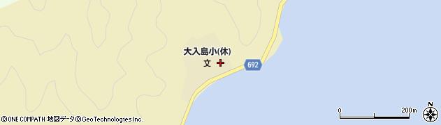 大分県佐伯市石間浦1098周辺の地図