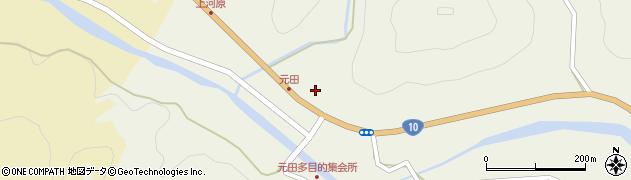 大分県佐伯市弥生大字大坂本1722周辺の地図