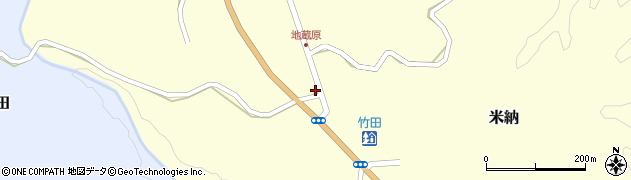 大分県竹田市米納803周辺の地図