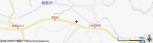 大分県竹田市炭竈312周辺の地図