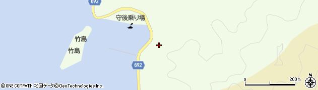 大分県佐伯市守後浦1024周辺の地図