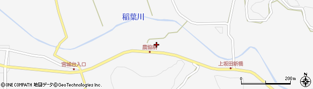 大分県竹田市炭竈369周辺の地図