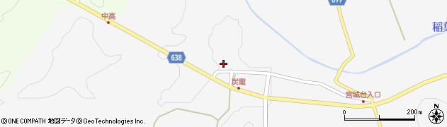 大分県竹田市炭竈1146周辺の地図