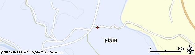 大分県竹田市下坂田692周辺の地図