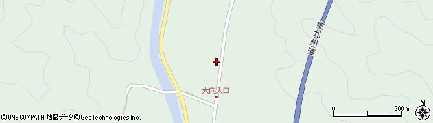 大分県佐伯市弥生大字床木292周辺の地図