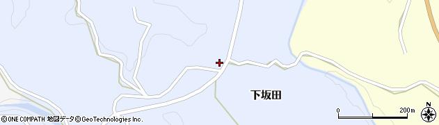 大分県竹田市下坂田684周辺の地図