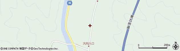 大分県佐伯市弥生大字床木535周辺の地図