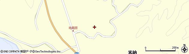 大分県竹田市米納1109周辺の地図
