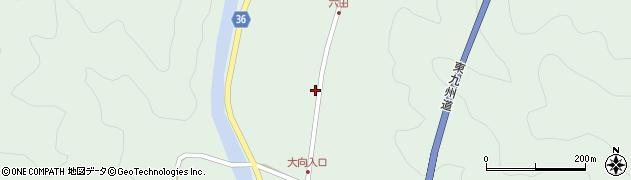 大分県佐伯市弥生大字床木534周辺の地図