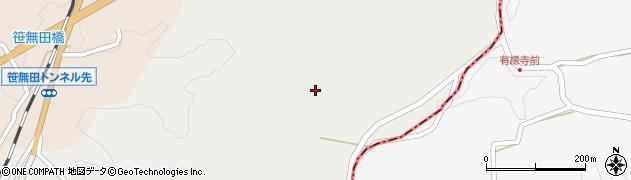 大分県竹田市挟田2428周辺の地図