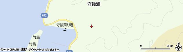 大分県佐伯市守後浦987周辺の地図