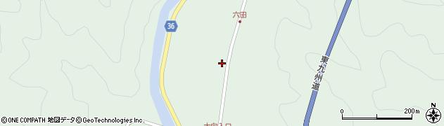 大分県佐伯市弥生大字床木539周辺の地図