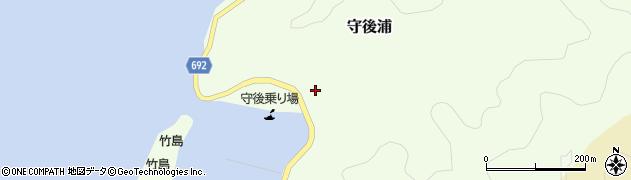 大分県佐伯市守後浦880周辺の地図