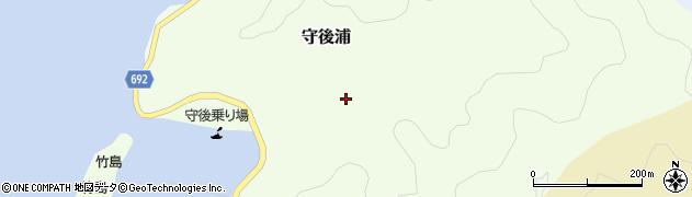 大分県佐伯市守後浦956周辺の地図