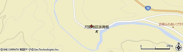 大分県佐伯市弥生大字尺間507周辺の地図