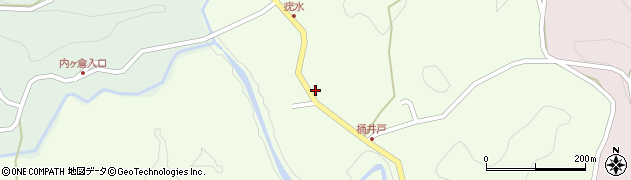 大分県竹田市植木987周辺の地図