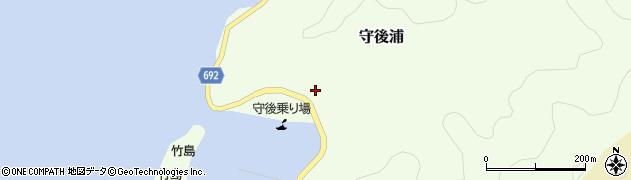 大分県佐伯市守後浦867周辺の地図