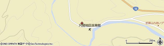 大分県佐伯市弥生大字尺間508周辺の地図
