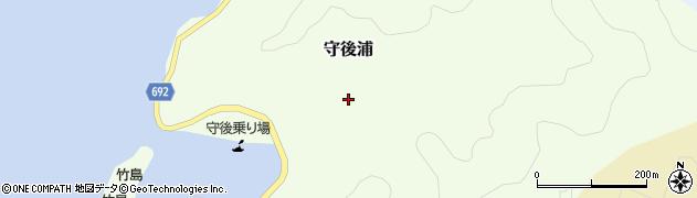 大分県佐伯市守後浦944周辺の地図