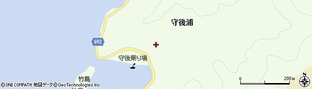 大分県佐伯市守後浦876周辺の地図