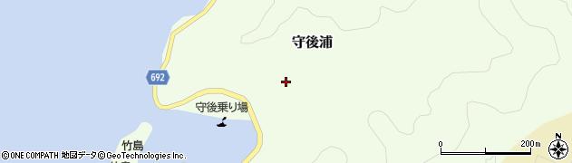 大分県佐伯市守後浦904周辺の地図