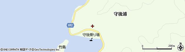 大分県佐伯市守後浦849周辺の地図
