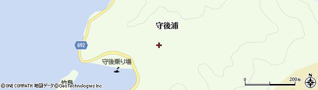 大分県佐伯市守後浦908周辺の地図