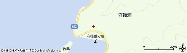 大分県佐伯市守後浦863周辺の地図