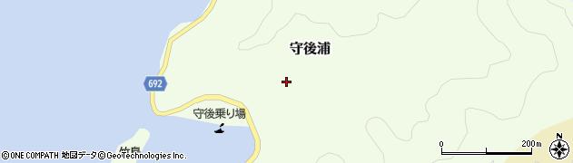 大分県佐伯市守後浦905周辺の地図