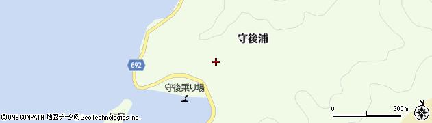 大分県佐伯市守後浦873周辺の地図