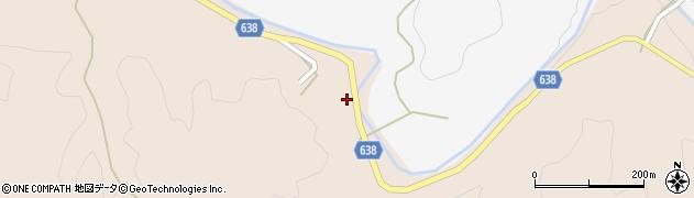 大分県竹田市久住町大字添ケ津留835周辺の地図