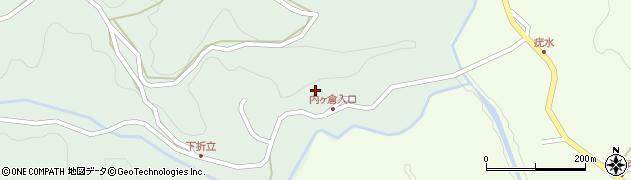 大分県竹田市平田5464周辺の地図