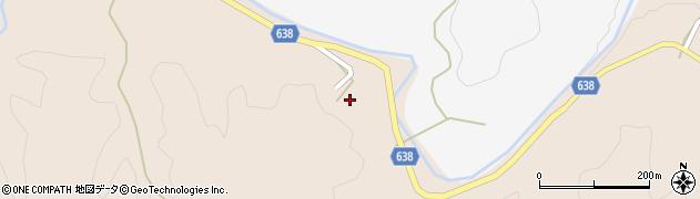 大分県竹田市久住町大字添ケ津留395周辺の地図